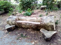 "What a great idea! In Newquay gardens I noticed that the gardeners had to cut a tree down and look what they have made out of it, ""a bit of art work i would say"" well done that man or woman, love your ingenuity."