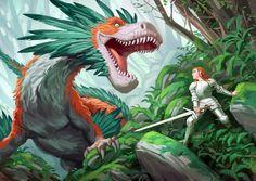 Feathered Dragon by Minnhagen on deviantART