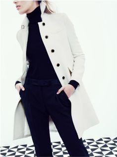 J.Crew coat chic