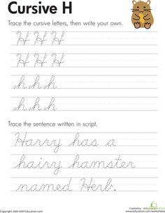Practice cursive letters A-Z with our cursive handwriting worksheets. From A to the mysterious cursive Z, you'll be an expert cursive writer when you're done. Learning Cursive, Handwriting Practice Worksheets, Improve Your Handwriting, Improve Handwriting, Handwriting Analysis, Practice Cursive, Grammar Practice, Improve Writing Skills, Cursive Letters
