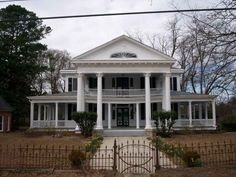 Classical Revival style home with major systems updated. Great floorplan and large porches for entertaining.