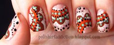 Polish Art Addiction: Fall Dots