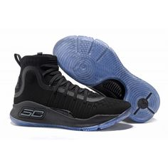 dd7989d829bb Curry Shoes - 2017 New Under Armour UA Curry 4 Basketball Shoes Black