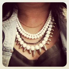 Mischa Necklace by Stella & Dot. 50% off through December 9 with promo code PEOPLESD.