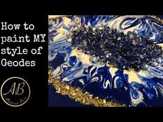 How to do MY style of Geodes! - YouTube