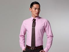 The Pioneer Pink Gingham Shirt | Indochino