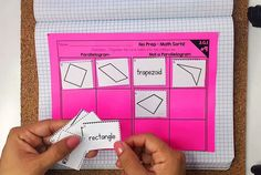 Try 5 FREE Math Sorts to Practice Third Grade Math Standards - These interactive math activities are perfect for math centers, math games, assessments, math warm ups, math homework, or math talks.   They cover all common core math standards and are available for grades 2-5. Graphing Games, Math Games, Math Activities, Maths, Google Classroom Tutorial, Common Core Math Standards, Math Division, Math Talk, Math School