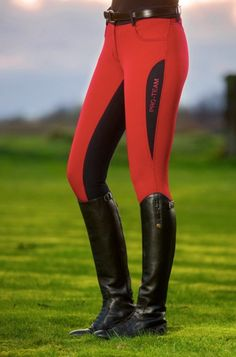 HKM Pro-Team Dynamic Contrast Breeches - Full Seat
