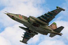 Sukhoi Su-25 Frogfoot Ground Attack Aircraft