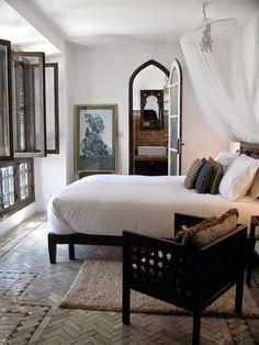 Riad Mena, Marrakech, Morocco #modernglobalstyle #riad #morocco