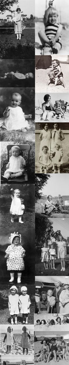 Marilyn Monroe Norma Jeane as a baby - http://dunway.com/