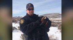 A Summit County Sheriff's Deputy is being credited with saving an injured golden eagle Thursday afternoon.