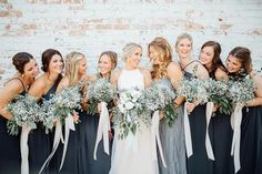 """""""Marriage is a thousand little things that make up the sum of our vows."""" - Darlene Schacht . This #marriagemonday we are swooning over these gorgeous wedding photos from @loveleighco.photos. The rustic-industrial vibe at the Cotton Mill Event Venue is everything! . Photographer: @loveleighco.photos Venue: the Cotton Mill Event Venue - Jefferson, Georgia Georgia Wedding, Atlanta Wedding, North Atlanta, Blue Weddings, Summer Weddings, Bridesmaid Dresses, Wedding Dresses, Event Venues"""