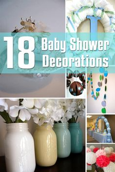 18 Baby Shower Decorations   Decor for the Holidays