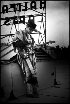 Stevie Ray Vaughan 'Nails' by Stephen Stickler