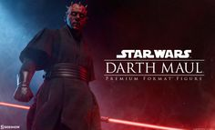 Coming Soon! Star Wars™ fans will have a chance to pre-order the Darth Maul Premium Format Figure here at Sideshow!