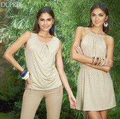 ¿Ya usas la tendencia de puntos? Luce hermosa como Maria Claudia Cueter Navarro y Mariana Rodriguez. Feliz Tarde