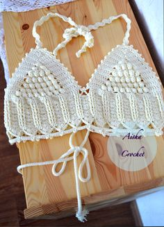 Crochet top boho style by Aisha crochet