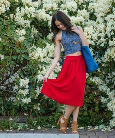 Featured in Lucky's Five Favorite Looks of the Week: Rina Doria  http://www.luckymag.com/blogs/luckyrightnow/2014/05/lucky-reader-look-of-the-week-may-12_slideshow_lucky-cute-outfit-of-the-week_2