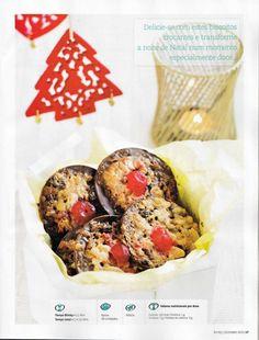 Revista bimby pt-s02-0013 - dezembro 2011 Muffin, Arm, Breakfast, Food, Crispy Cookies, Christmas Night, Xmas Gifts, December, Recipes