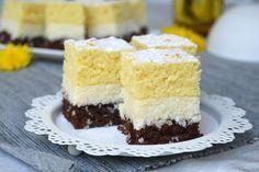 """Pýtate sa, prečo je """"Duet"""", pretože koláč sa skladá z dvoch piškót dvoch farieb. Food Cakes, Vanilla Cake, Cake Recipes, Sweet Tooth, Cheesecake, Food And Drink, Dishes, Cookies, Diy Stuff"""