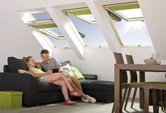 FAKRO tetőtéri ablakok - Farm Tüzép - Nyíreghyáza  #FAKRO #FarmTüzép #roofwindows #bathroom #bathroomdesigns #homerenovations #homedesigns Modern, Roofing Contractors, Roof Window, Build House, Trendy Tree