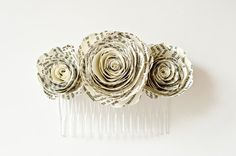 Hey, I found this really awesome Etsy listing at https://www.etsy.com/listing/188808954/pride-and-prejudice-flower-hair-comb