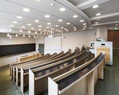 Helsinki University of Technology Department of architecture, Otaniemi Finland | Alvar Aalto | Restoration : NRT architects | Tuomas Uusheimo Photography