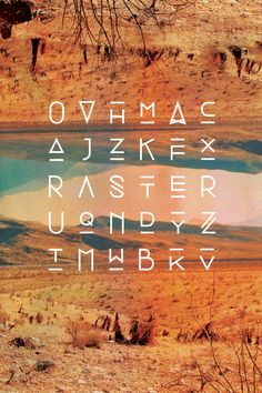 Raster Typeface