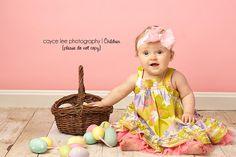 #Baby Portrait#spring#easter