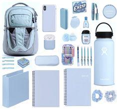 School Emergency Kit, School Kit, School Hacks, School Backpack Organization, Schul Survival Kits, School Bag Essentials, Middle School Lockers, Back To School Supplies List, School Suplies