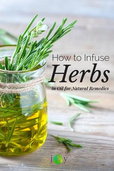 Infusing herbs in oil is super-simple and takes just a few minutes. And once you have your infused oils, you can create all sorts of natural remedies that are potent and effective. Definitely try one of these simple and natural techniques today!