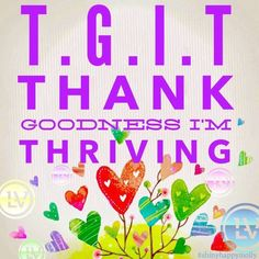 Image result for thanks to thrive level i'm energized
