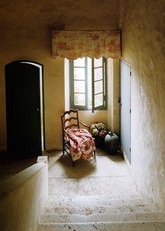 reading and prayer corner