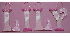 Personalised 8 inch Wooden Letter Name Plaque Child Bedroom Door Wall Boys Girls