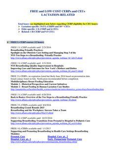 IBCLC training information