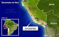 Taís Paranhos: Terremoto no Peru deixa ao menos nove mortos