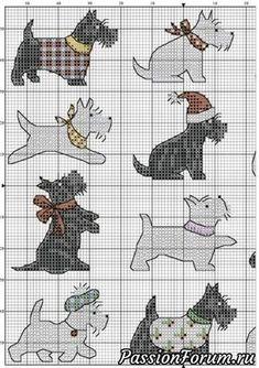 """""""Собачья"""" декоративная подушка... в будущем - запись пользователя vikanika (Виктория) в сообществе Вышивка в категории Вышивка. Работы пользователей"""