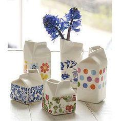 porcelain milk jug by hanne rysgaard