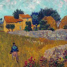 lonequixote: Farmhouse in Provence (detail) by Vincent van Gogh Vincent Van Gogh, Van Gogh Art, Art Van, Claude Monet, Desenhos Van Gogh, Van Gogh Pinturas, Kunst Online, Van Gogh Paintings, Dutch Painters
