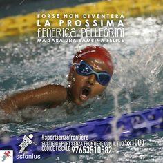 @Regrann from @ssfonlus -  Cosa rende un bambino davvero felice? Muoversi divertirsi giocare insieme. Crescere un passo per volta facendo sport con tanti nuovi amici lontano dalla strada per avere una vita sana e un futuro sereno.  Sostenere i nostri bambini non ti costerà nulla. Basta solo una firma. Dona il tuo 51000 a Sport Senza Frontiere: codice fiscale 97653510582.  @kikkafede88 #Federicapellegrini #pellegrini #nuotatrice #SportSenzaFrontiere #campione #campioni #campionessa…