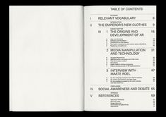Theoretical BA Thesis titled Picture This: A look into the future implications brought about by the development of augmented reality technologies on media consumption and manipulation. Graphic Design Books, Book Design Layout, Page Layout, Layouts, Ppt Design, Poster Layout, Print Layout, Editorial Layout, Editorial Design