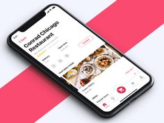 Food App – Restaurant Page designed by Anton Tkachev for Connect with them on Dribbble; the global community for designers and creative professionals. Web Design, Graph Design, App Ui Design, User Interface Design, Page Design, Interaction Design, Mobile Mockup, Mobile App, Food App