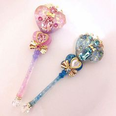 I am sailor moon champion of justice on behalf of the moon I will right wrongs and triumph over evil and that means you ! Kawaii Jewelry, Kawaii Accessories, Cute Jewelry, Magical Jewelry, Resin Charms, Kawaii Shop, Fantasy Jewelry, Visual Kei, Magical Girl