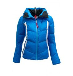 Top function in a feminine fit. The Zoe-D Jacket by Bogner Fire & Ice with contrasting stripes accentuate the fitted silhouette. Trendy extended back and rounded hem. Stylish: the hood can be turn into a voluminous collar inside. . Put on your new favorite piece for your winter Bogner's Fire & Ice is the home of functionality, innovative sportswear with a touch of class: a young and exciting mix of functional active wear and the classic sophisticated style. Ski Fashion, Fashion Women, Ski Wear, Sophisticated Style, Put On, Active Wear, Sportswear, Winter Jackets