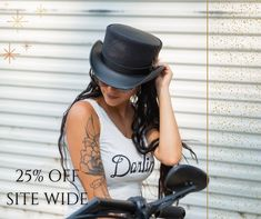 After Xmas Special Sale 25% OFF Site Wide From December 27, 2020 to January 3, 2021 Black Hats, Made In America, Hat Making, Leather Working, Latest Fashion Trends, Riding Helmets, December, Xmas, Lovers