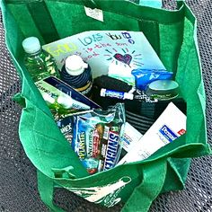 Inspired by a friends blog our family has started carrying blessing bags in the car for the homeless. Please consider doing this yourself.  Between Aldi and dollar stores you can put together great bags. My kids usually choose a hat, gloves, warm socks, peanut butter, crackers, dried fruit, granola bars, sports drink, face cloths, and travel tooth brush and paste sets. We all look forward to helping this way.