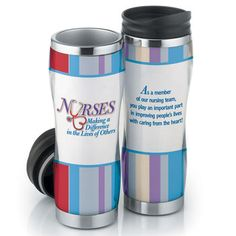 NURSES: Making A Difference In The Lives Of Others Full-Color Insulated Tumbler