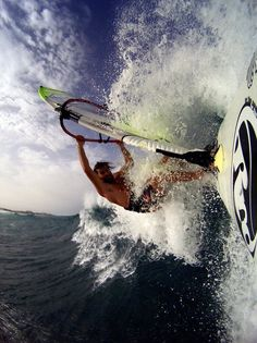#windsurfing #sailboarding