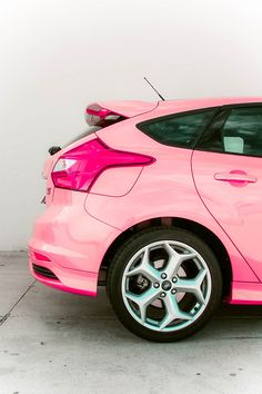 Pink Ford ☆ Girly Cars for Female Drivers! Love Pink Cars  It's the dream car for every girl ALL THINGS PINK!